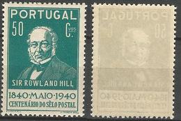 PORTUGAL 1º Centenario Selo -50C- 1940- Afinsa 602- MNHOG- Excellent - Nuevos
