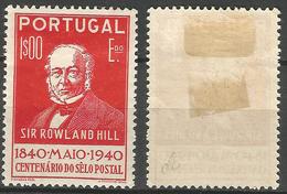 PORTUGAL 1º Centenario Selo -1E- 1940- Afinsa 605- MH No Faults- Excellent - Nuevos