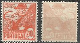 PORTUGAL Costumes -2E- 1941- Afinsa 616- MNHOG- Excellent - Nuevos