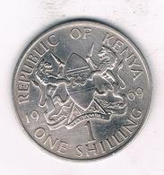 1 SHILLING  1969 KENIA /2078// - Kenya