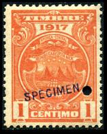 "1917 Costa Rica ""Color Proof Specimen"" - Costa Rica"