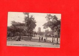 F1103 - CHAZELLES SUR LYON - 42 - Place Poterne Et Le Kiosque - Autres Communes