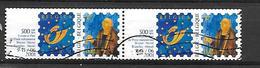 Belgien 2000  2x  Mi 2952  Internationale Briefmarkenausstellung Brüssel  Gest. - Belgien