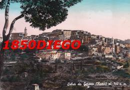 SALUTI DA GERANO F/GRANDE VIAGGIATA 1958 - Roma (Rome)