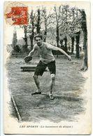 CPA 1908 - Les Sports Le Lancement Du Disque ( Sport Discipline De L'athlétisme ) - Athlétisme