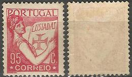 PORTUGAL Lusiadas -95C- 1933- Afinsa 545- MH- Excellent - Nuevos