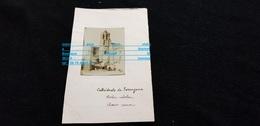 Photo F Cp Espagne TARRAGONE La Cathédrale  En 1908 ( Rue Place Attelage  ) - Tarragona