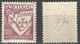 PORTUGAL Lusiadas -1E- 1931- Afinsa 525- MNHOG- Excellent Back Number With Pencil - Nuevos