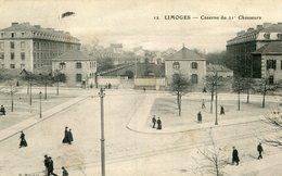 LIMOGES - Caserne Du 21 ème Bataillon De Chasseurs Soldat écrit à Frévent - Limoges