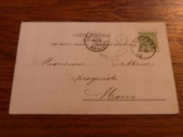 Entier Postal Droguerie Du Mortier D'Or J Héraly Hennin Waremme - Zonder Classificatie