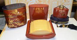 Flacon Et Savon YVES SAINT LAURENT OPIUM  FLACON 7.5ML PLEIN SAVON 100GR - Parfums