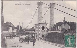70. GRAY. Le Pont Suspendu - Gray