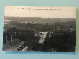 VINCENNES — Vue Générale Du Quartier Des Dragons - Vincennes