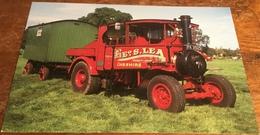 1928 Foden D Steam Tractor (Reg. No. FK 3925) - Postcards
