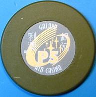 P5 Casino Chip. Galaxy Rio, Macau. N73. - Casino