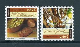2005 Luxemburg Complete Set Gastronomy Used/gebruikt/oblitere - Luxembourg