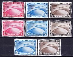 ** Allemagne-Empire 1930-33, Mi 438-9+456-8+496-8, (MNH) Réimpresion - Timbres