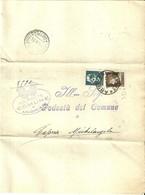 """2976 """" ELENCO DELLE PERSONE CANCELLATE DA REGISTRO POPOL DI ANGHIARI IN DATA 30/4/1933 EMIGRATE A CAPRESE """"  ORIGINALE - Alte Papiere"""