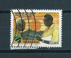 2000 Tanzania J.Nyerere Used/gebruikt/oblitere - Tanzania (1964-...)
