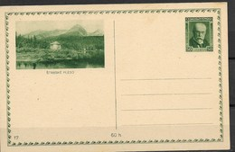 E571 -CZECHOSLOVAKIA-POSTCARD-1928- STAMP-MASARYK -50 H  - UNUSED -MNH** - Interi Postali