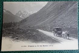 Cpa - (74) - Jj 2783 - Diligence Au Col Des Montets - Chamonix-Mont-Blanc