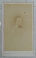 Ancienne Photo Format CDV De GASTON DU VAURE Le 25 Avril 1872 Par G. MARGAIN & JAGER à Grenoble - Personnes Identifiées
