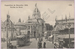 Bruxelles (Belgique) - Exposition Universelle De 1910 - Pavillon Du Brésil (1) - Mostre Universali