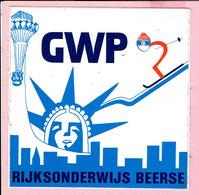 Sticker - GWP - Rijksonderwijs BEERSE - Autocollants
