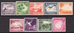 Nauru 1954-65 Definitives Set Of 9, MNH, SG 48/56 - Nauru