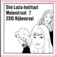 Sticker - Sint Lucia Instituut - Molenstraat Rijkevorsel - Autocollants
