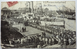 US MARINES EMBARKING FOR MEXICO - Other