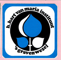 Sticker - H.Hart Van Maria Instituut - S'Gravenwezel - Autocollants