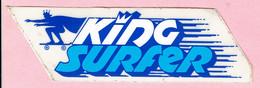 Sticker - KING SURFER - Autocollants