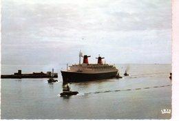 Cpm Le Havre - Le France - ( Compagnie Générale Transatlantique ) - - Harbour