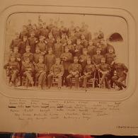 Photo Ancienne Militaire Officier Du Régiment Identifiés Médailles Décoration Photographe De Levallois - Guerre, Militaire