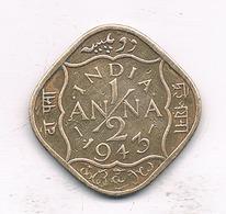 1/2 ANNA 1943  INDIA/2087/ - Indien