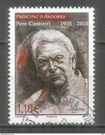 Pere Canturri (Ethnographe De La Culture Et Des Traditions Andorranes), Un Timbre Oblitéré 1 ère Qualité - Used Stamps