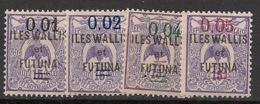 Wallis Et Futuna - 1922 - N°Yv. 26 à 29 - Série Complète - Neuf Luxe ** / MNH / Postfrisch - Wallis-Et-Futuna