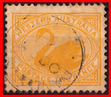 AUSTRALIA (OCEANIA)  SELLO WESTERN AUSTRALIA 1898 - Usati