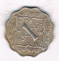 1 ANNA 1939  INDIA/2091/ - Indien
