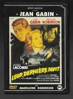 Leur Dernière Nuit  Dvd  Jean Gabin  Madeleine Robinson - Drama