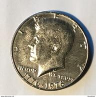 USA 1976 HALF DOLLAR D - 1964-…: Kennedy