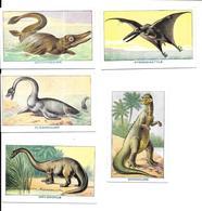 AP29 - IMAGES HEMEGLOBINE DESCHIENS - ANIMAUX PREHISTORIQUES - DINOSAURES - Cromo