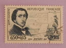 """FRANCE YT 1262 OBLITERE """"EDGAR DEGAS"""" ANNEE 1960 - France"""