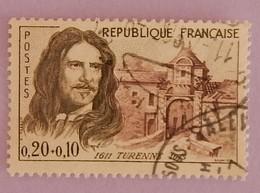 """FRANCE YT 1258 OBLITERE """"TURENNE"""" ANNEE 1960 - France"""