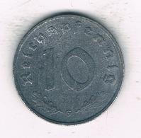 10 PFENNIG 1941 G    DUITSLAND /2097/ - 10 Reichspfennig