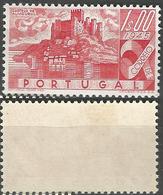 PORTUGAL Castelos De Portugal -1E- 1946- Afinsa 668- MLHOG- Excellent - Nuevos