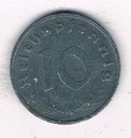 10 PFENNIG 1944 A     DUITSLAND /2099/ - [ 4] 1933-1945: Drittes Reich