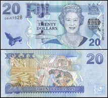 FIJI - 20 Dollars Nd.(2007) {Queen Elizabeth II} UNC P.112 - Fidji