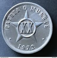 Cuba 20 Centavos 1972 - Cuba